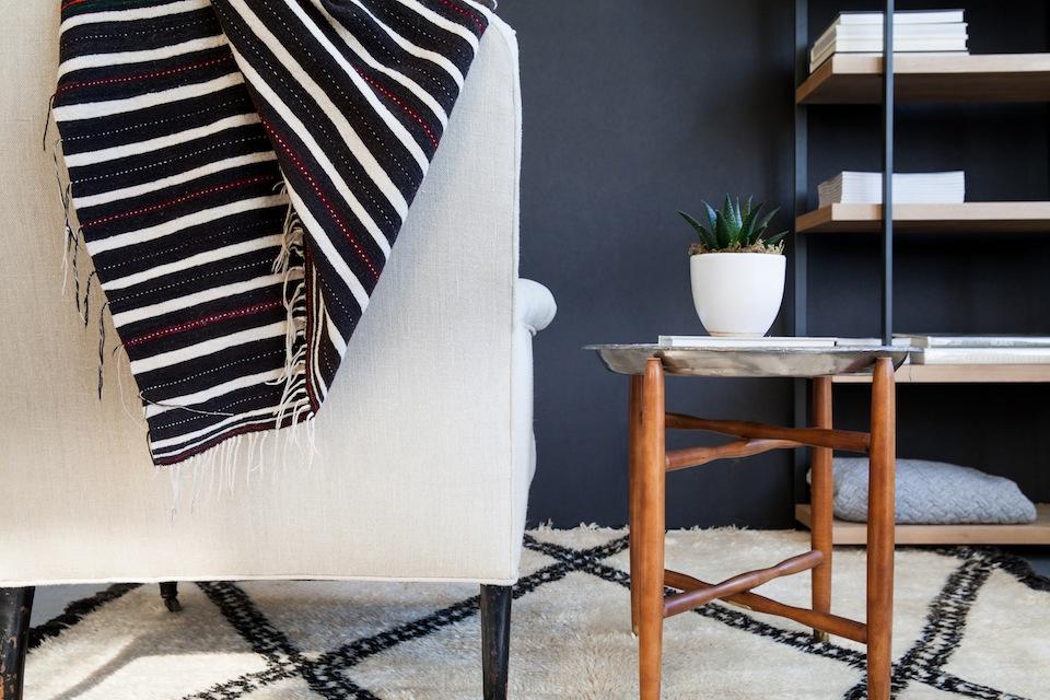 Striped-moroccan-berber-blanket